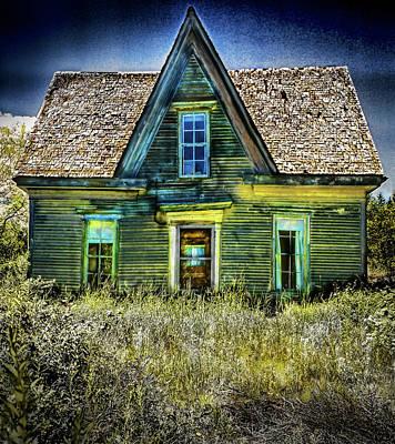 Deer Isle Haunted House Poster