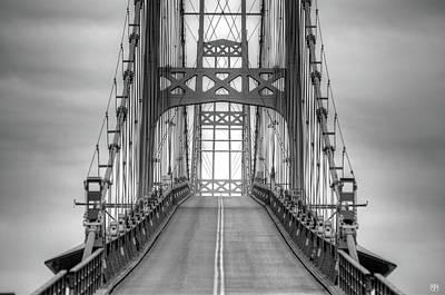 Deer Isle Sedgwick Bridge Poster
