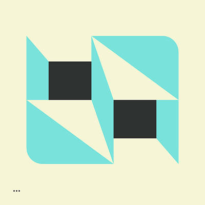 Deja Vu Poster by Jazzberry Blue