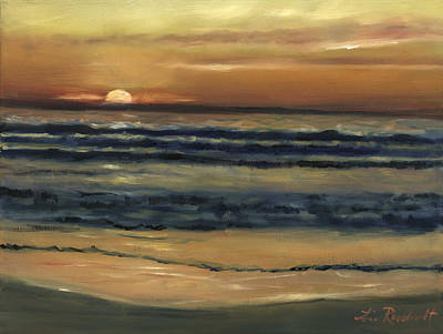 Del Mar Sunset Poster