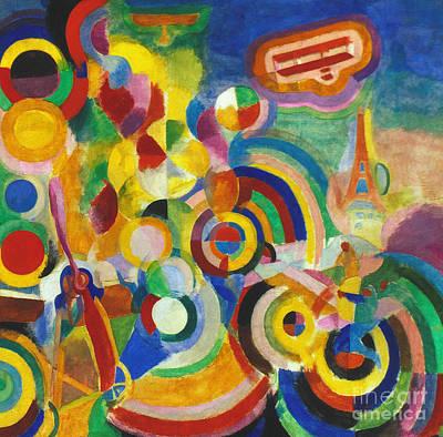 Delaunay: Hommage Bleriot Poster