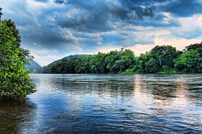 Poster featuring the photograph Delaware River by Michael Dorn