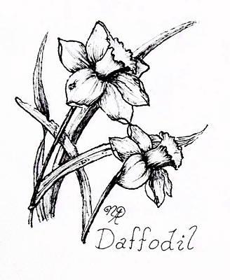 Delightful Daffodils Poster