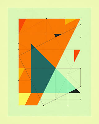 Delineation - 109 Poster by Jazzberry Blue
