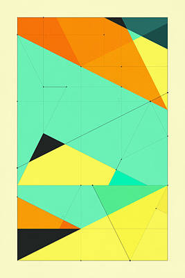 Delineation - 122 Poster by Jazzberry Blue