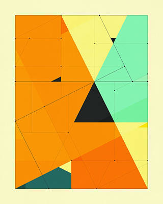 Delineation - 124 Poster by Jazzberry Blue