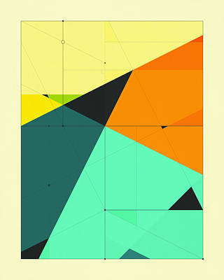 Delineation - 125 Poster by Jazzberry Blue