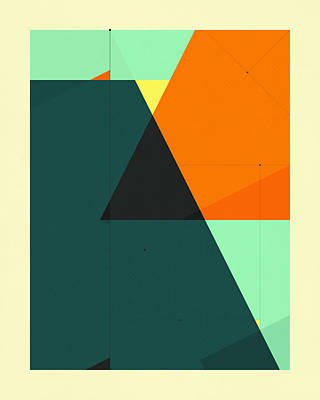 Delineation - 129 Poster by Jazzberry Blue