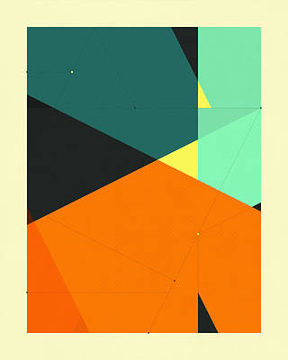 Delineation - 130 Poster by Jazzberry Blue