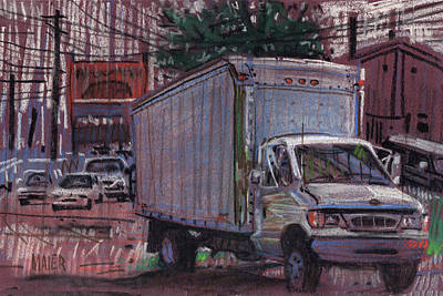 Delivery Truck 2 Poster