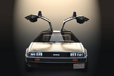 Delorean Motor Company Poster by Bill Dutting