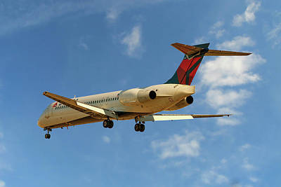 Delta Airlines Boeing 717-200 Poster