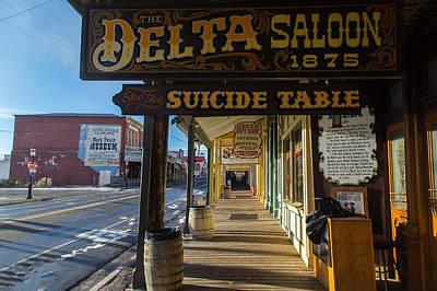 Delta Saloon 1875 Poster