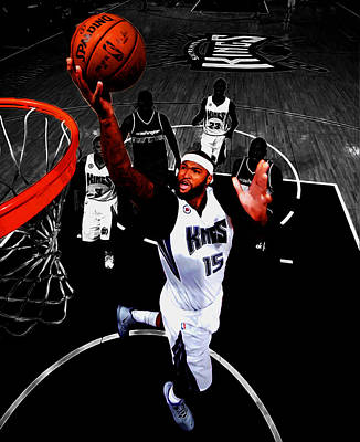 Demarcus Cousins Poster by Brian Reaves