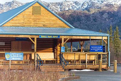Denali View Alaska Poster