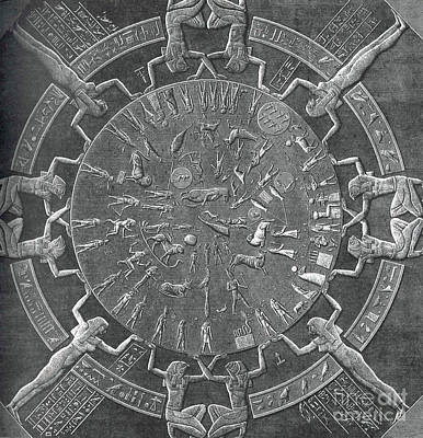 Dendera Zodiac Poster by Science Source