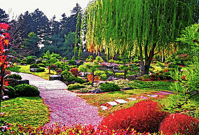 Denver Botanical Gardens 1 Poster by Steve Ohlsen