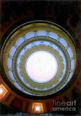 Poster featuring the photograph Denver Capital Building Rotunda by Michael Hoard