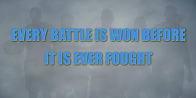 Denver Nuggets Battle Poster by Joe Hamilton