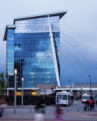 Denver Union Station And Milennium Bridge Poster