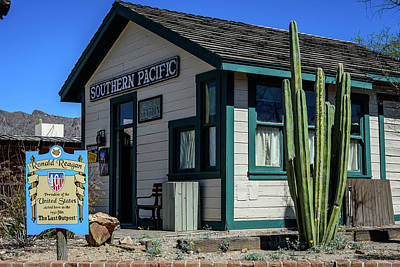 Depot - Old Tucson Arizona Poster