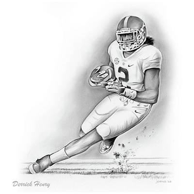 Derrick Henry Poster by Greg Joens