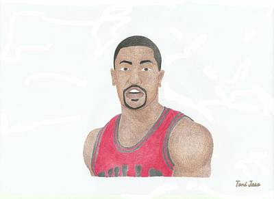 Derrick Rose Poster by Toni Jaso