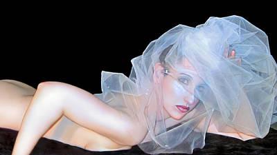 Desdemona - Do You See - Self Portrait Poster by Jaeda DeWalt