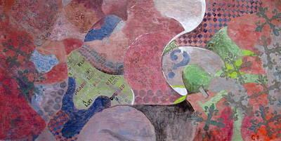 Deseo Orden Caos Paz Poster by Gabriela Lara de Neme