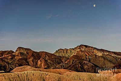 Desert Moon Poster by Charles Dobbs
