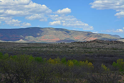 Desert Mountains - Verde Canyon Poster by Aimee L Maher Photography and Art Visit ALMGallerydotcom