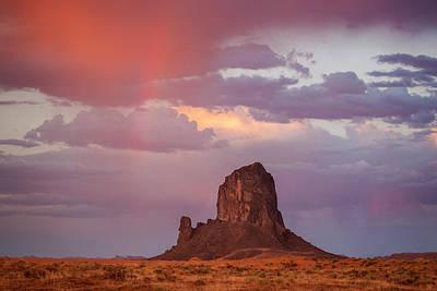 Desert Rainbow Poster