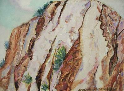 Desert Rocks Poster