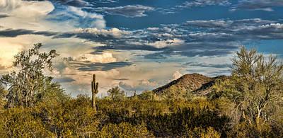 Desert Sky - San Tan Arizona Poster by Jon Berghoff