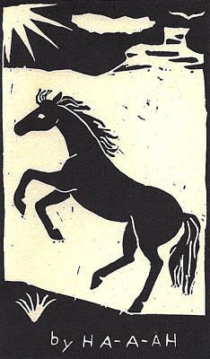 Desert Stallion Poster