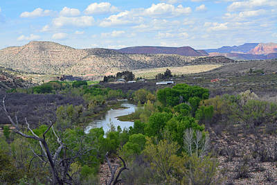 Desert Stream - Verde Canyon Poster by Aimee L Maher Photography and Art Visit ALMGallerydotcom