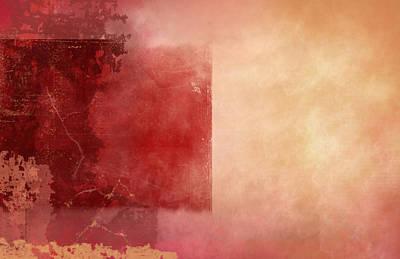 Desert Sunset Poster by Christopher Gaston