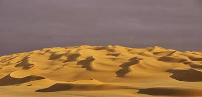 Desert Waves Poster