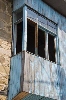 Deserted Balcony  Poster