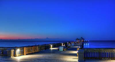 Deserted Sunrise Folly Beach Charleston South Carolina Art Poster