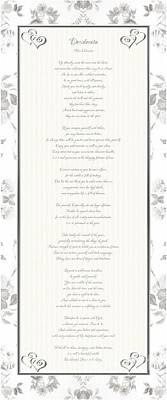 Poster featuring the digital art Desiderata In Silver Script By Max Ehrmann by Rose Santuci-Sofranko