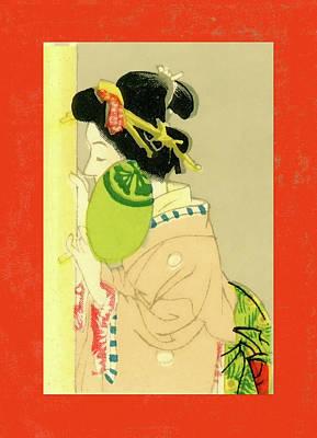 Designer Series Japanese Matchbox Label 129 Poster