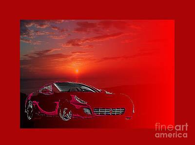 Extraordinary Designer's Dream Ferrari M2 Poster