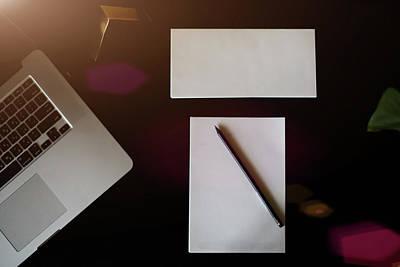 Desk, Desktop, Top. Poster
