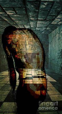 Despair  Poster by Tammera Malicki-Wong