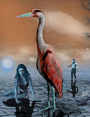 Desperate Soul Poster by Solomon Barroa