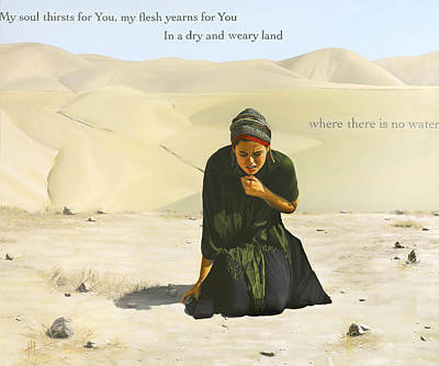 Desperation  Poster by Hannah Harris