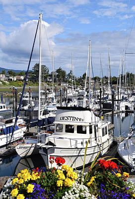 Destiny Sidney Harbor British Columbia Canada Poster
