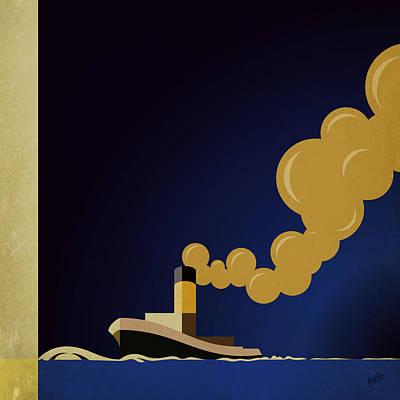 Detail Atlantique By Cassandre Poster