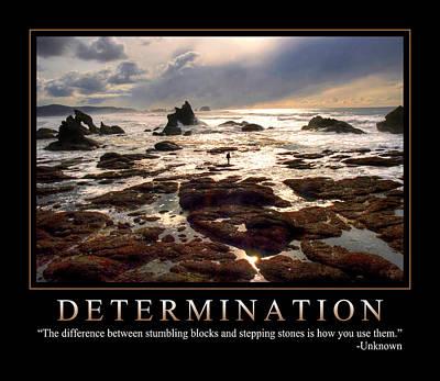 Determination 1 Poster